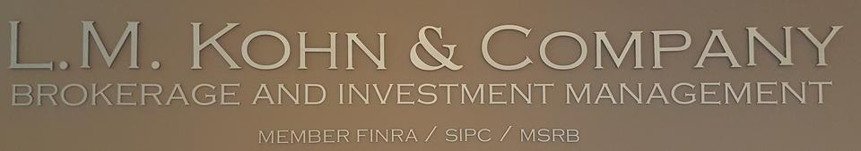L.M. Kohn & Company Logo
